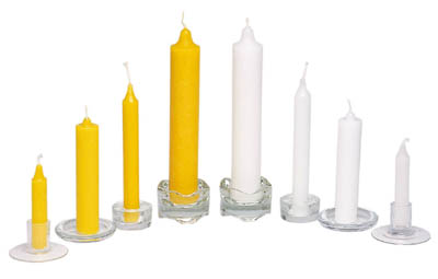 Yellow and White Candles, Brooklyn, NY
