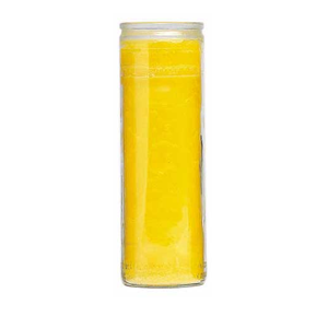 Plain Candle Yellow